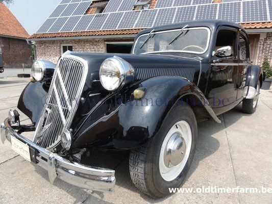 citro u00ebn traction avant 15 six  1951  verkocht