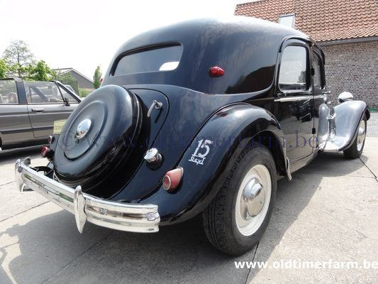 citro n traction avant 15 six 1951 vendue. Black Bedroom Furniture Sets. Home Design Ideas