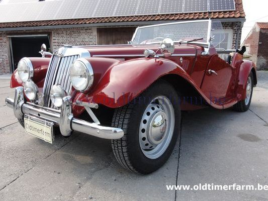 MG TF RHD Red  (1959)