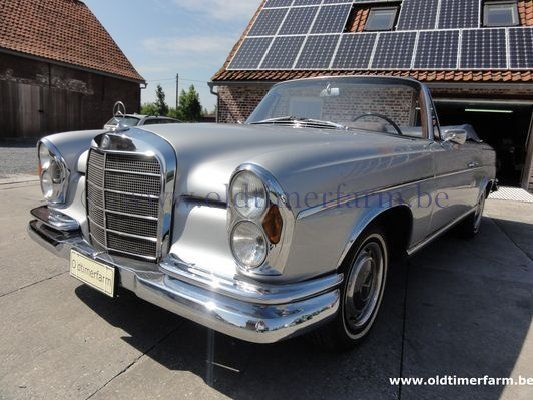 Mercedes-Benz 300SE Cabriolet Grey  (1963)