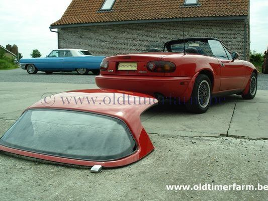 Mazda MX5 - Miata Airco Red (1990)