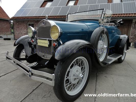 Ford A Roadster Blue 1929 (1929)