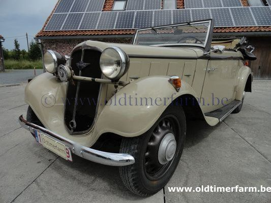 Hanomag Rekord Cabriolet Beige 1936 Sold Ref 1333