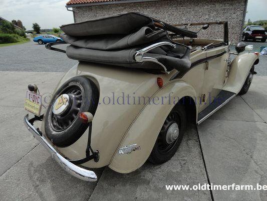 Hanomag  Rekord Cabriolet Beige (1936)