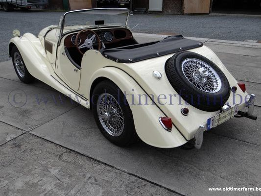 Morgan  +4 2 seater Beige  (1967)