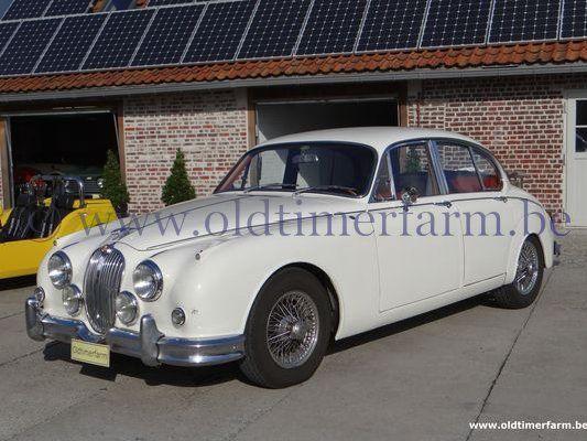 Jaguar  MK II 3.8  Man. White (1962)