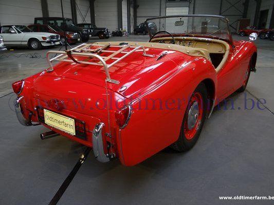 Triumph TR 2  Red  (1955)