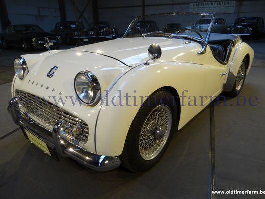Triumph TR 3A  White  (1962)