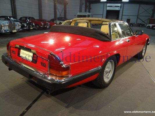 Jaguar XJSC Red RHD