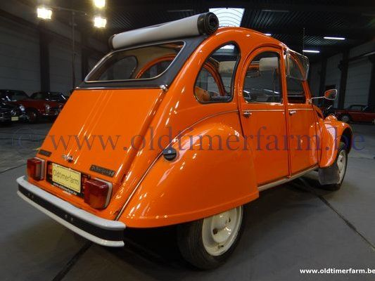 Citroën  2CV AZKA  Orange ch.3909  (1982)
