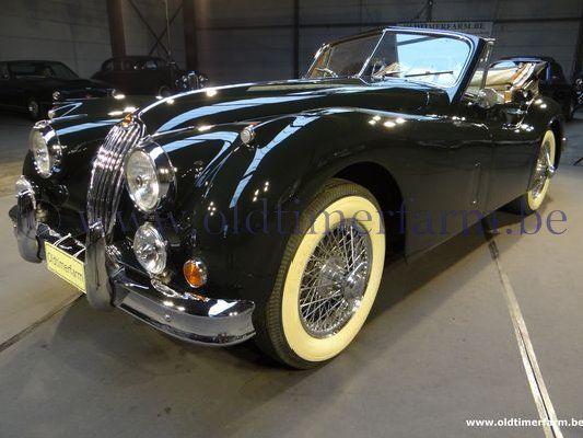 Jaguar Xk 140 Dhc 1955 Sold Ch 7218