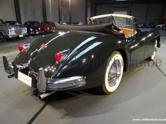 jaguar xk 140 dhc 1955 vendue. Black Bedroom Furniture Sets. Home Design Ideas