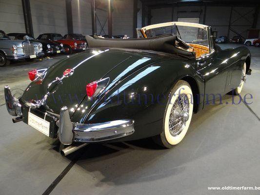 jaguar xk 140 dhc 1955 vendue. Black Bedroom Furniture Sets. Home Design Ideas