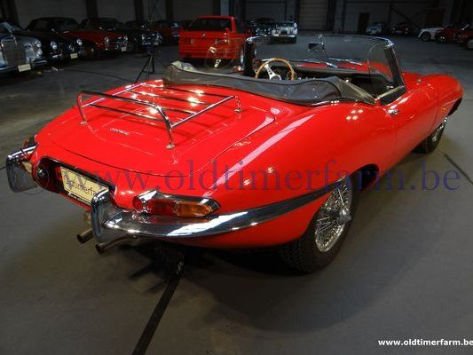 Jaguar E-Type series 1 3.8 Red   (1963)