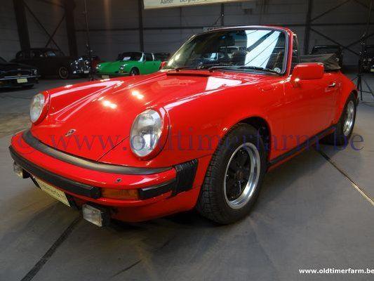 Porsche  911 SC Red Cabriolet  (1983)