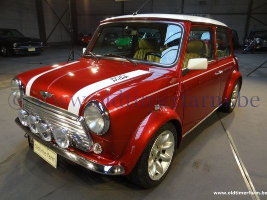 Mini Cooper Mpi Red 1997 Sold Ch 8691