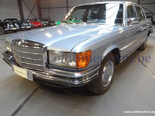 mercedes benz 280 sel blue 1978 verkocht. Black Bedroom Furniture Sets. Home Design Ideas