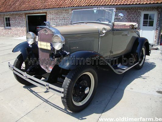 Ford A Roadster Beige (1931)