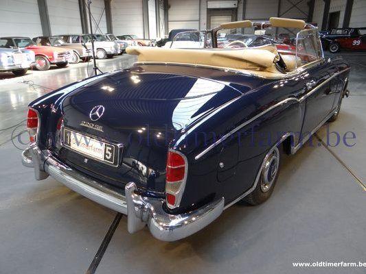 Mercedes Benz 220 Se Cabriolet Dark Blue 1960 Sold Ch 2838