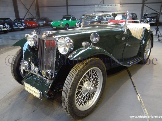 MG  TC  Green  (1948)