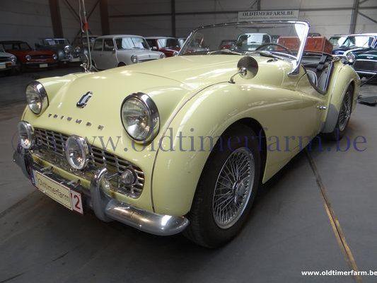 Triumph TR 3A Yellow  (1960)