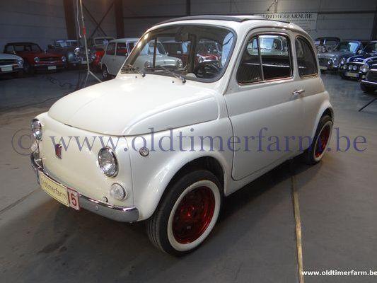 Fiat  500 F White  (1975)