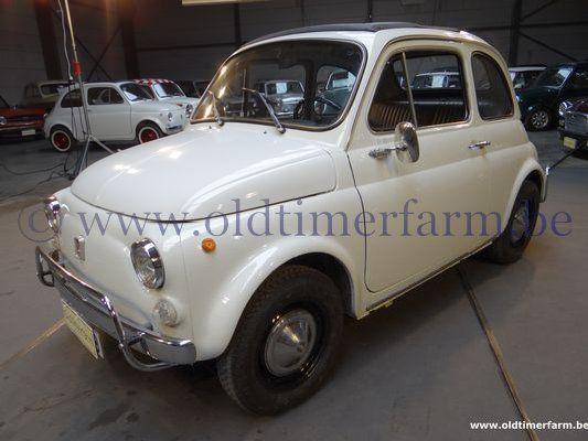 Fiat 500 L White (1972)