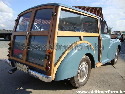Morris Minor Traveller (Woody)