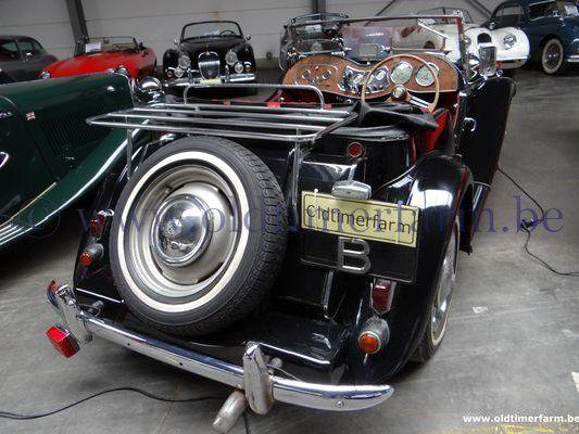 MG  TD Black  (1951)