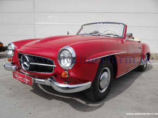 Mercedes-Benz 190SL Red '55 (1955)