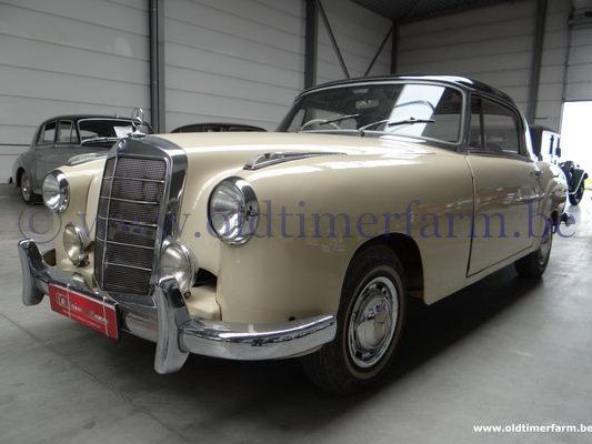 Mercedes benz 220 se ponton 1960 sold ch 0038 for Mercedes benz for sale in md