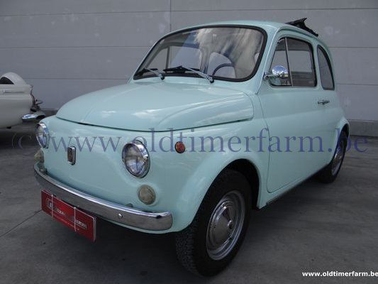 Fiat  500F Light Green  (1972)