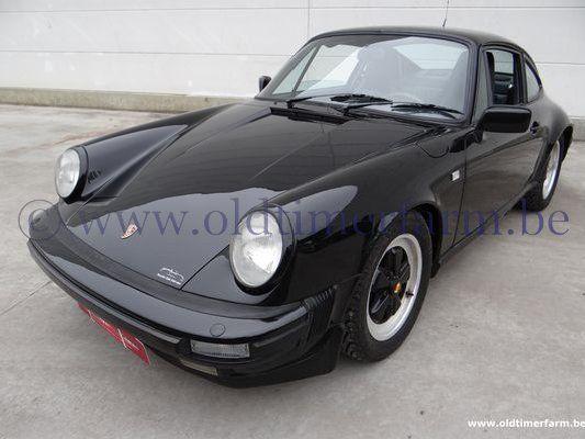 Porsche 911 3.0 SC Black (1981)