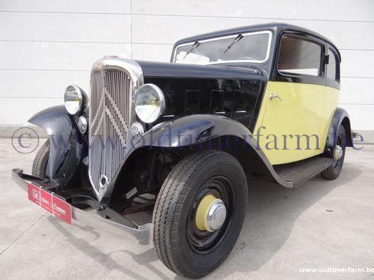 Citroën Rosalie Coach 8A Manessius '34 (1934)