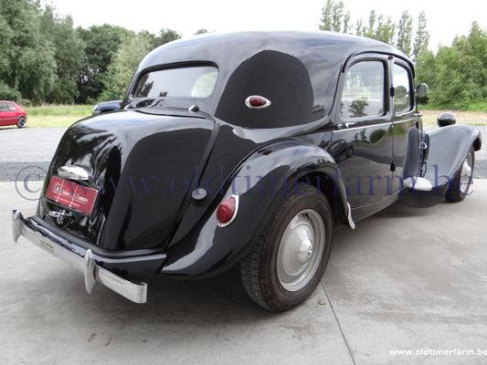 Citroën Traction 11BN Black