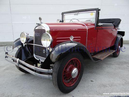 Chenard & Walcker T8 '32 (1932)