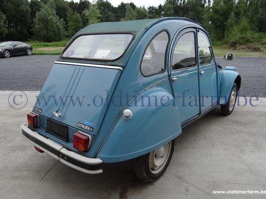 Citroën 2CV AZKA Blue (1983)