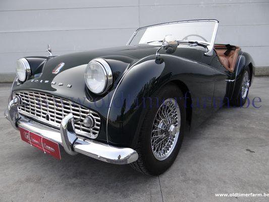 Triumph TR 3A Green  (1959)