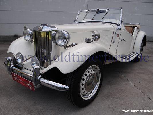 MG  TD RHD White (1953)