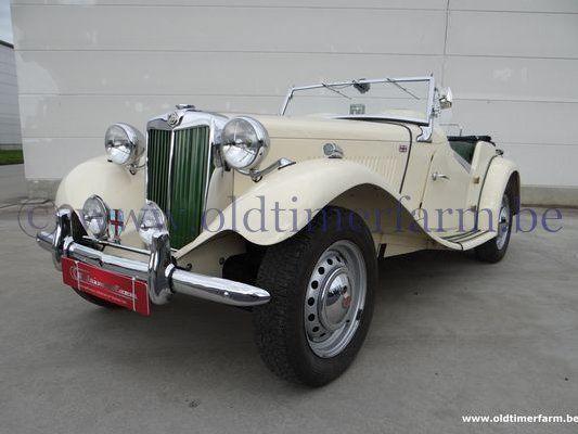 MG TD Beige LHD (1955)