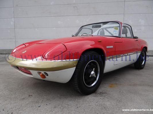 Lotus Elan DHC Sprint Red/White