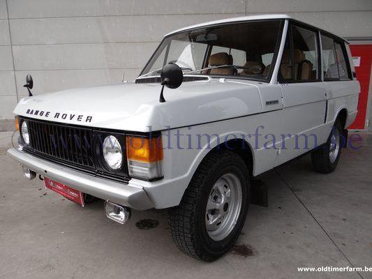 Range Rover Two door V8 (1972)