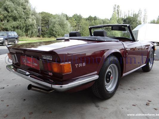 Triumph TR 6 Bordeaux PI (1969)