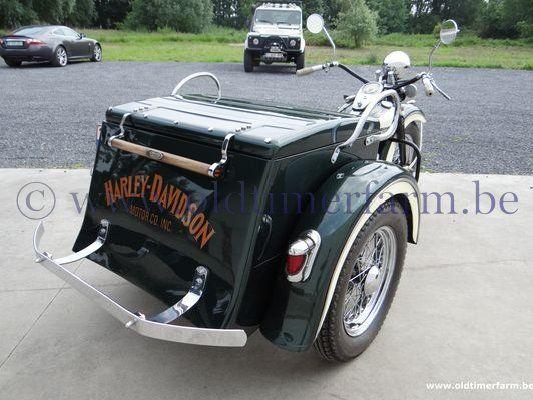 Harley Davidson  Servicar Green
