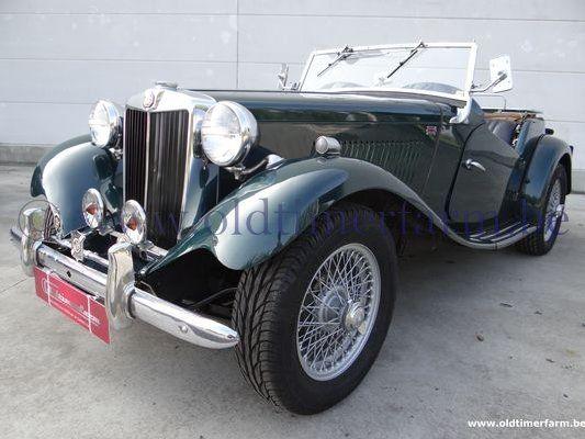 MG  TD green  (1952)