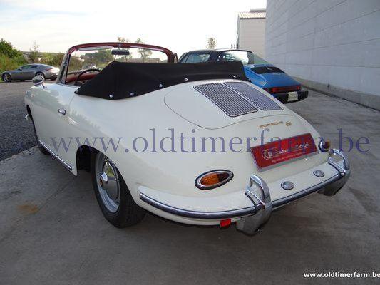 Porsche 356 B T6 White Cabriolet (1962)