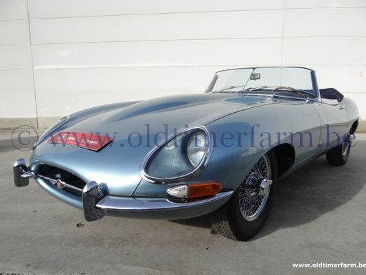 Jaguar E-Type 3.8 Series 1 Roadster Light Blue