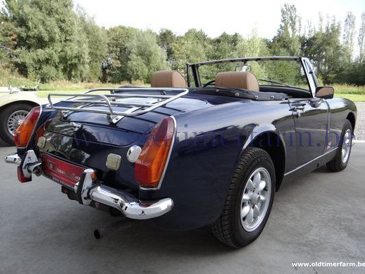 mg midget blue 1275 1974 vendue ch 388g. Black Bedroom Furniture Sets. Home Design Ideas