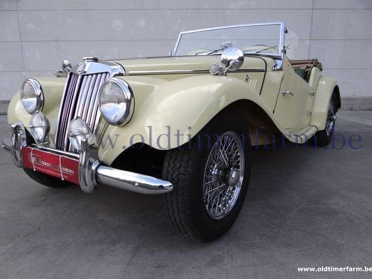MG  TF Yellow (1954)