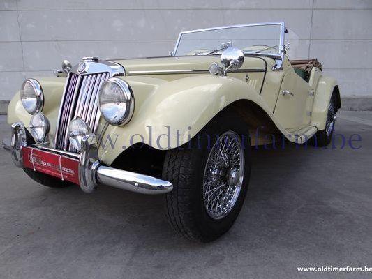 MG  TF Yellow (1954)